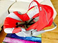 Infant Car Seat - Red Colour