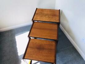 Vintage Retro teak G plan nest of tables