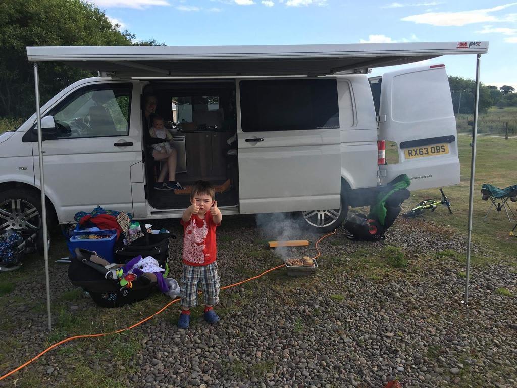 Garage Voor Camper : Camper van answers adventure s call with flex bed garage and