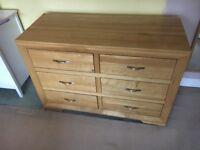 Chest of Drawers (Oak Furniture Land - Bevel)