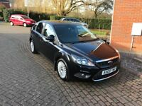 Ford FOCUS Titanium 1.8tdci, Black, Great Condition, 12 months MOT