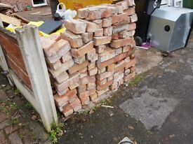 Free bricks, over 150 perfect for reuse or pathways etc