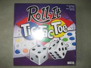 BRAND NEW - ROLL IT TIC-TAC-TOE BOARD GAME