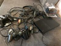 PS2 slimline controllers silver crest