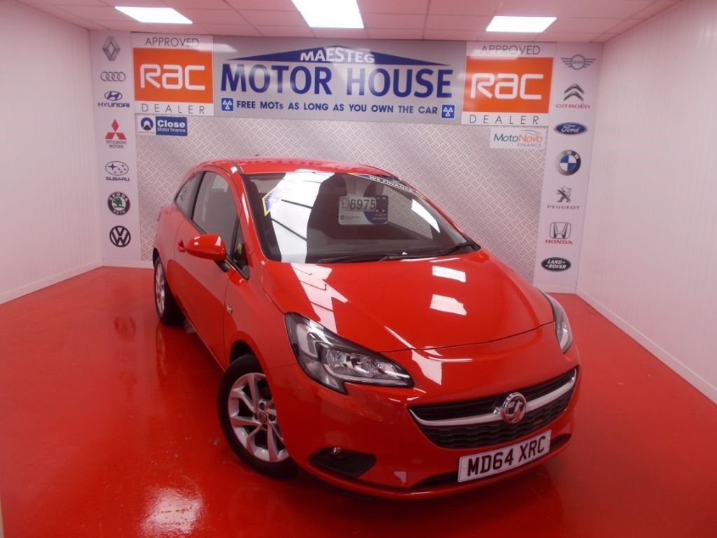 Vauxhall Corsa EXCITE AC (HUGE SPEC) FREE MOT'S AS LONG AS YOU OWN THE CAR!!! (red) 2015