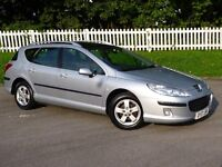 2007 (07) Peugeot 407 SW 1.6 HDi SE | PANORAMIC ROOF | IMMACULATE | Aprill 17 MOT | HPI CLEAR