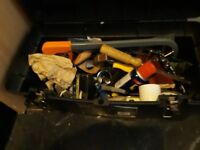 large tool box and full of tools
