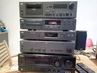 HiFi Seperates and Speakers - amplifier - cd - tuner - tape - NAD - Sony - Mission