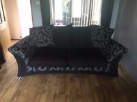 18 Month old 3 seater fabric sofa