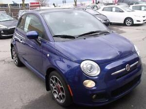 2012 Fiat 500 Sport/TOIT/MAGS