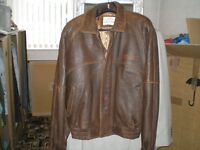 BUDWEISER LEATHER JACKET by L A LEATHER