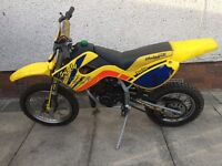 Malaguti grizzly rcx 12 50cc kids bike