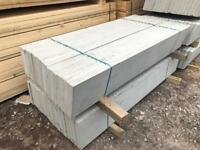 🐌 NEW ~ CONCRETE FENCING BASE PANELS/ GRAVEL BOARDS