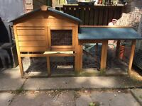 Rabbit hutch for sale, great condition