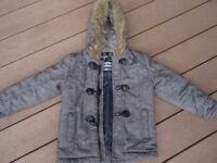 Urban Rascals boys winter warm coat age 5-6 yrs in lovely condition.
