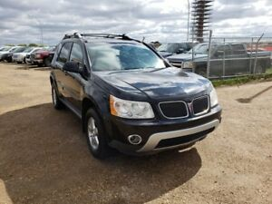 2007 Pontiac Torrent 3.4L V6 AWD Leather Heated Seats