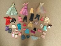Dolls clothes - to fit ' barbie' size doll
