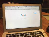 "Core i7, 13"" MacBook Air, 250GB, 2012, 2GHz, 8 GB memory"