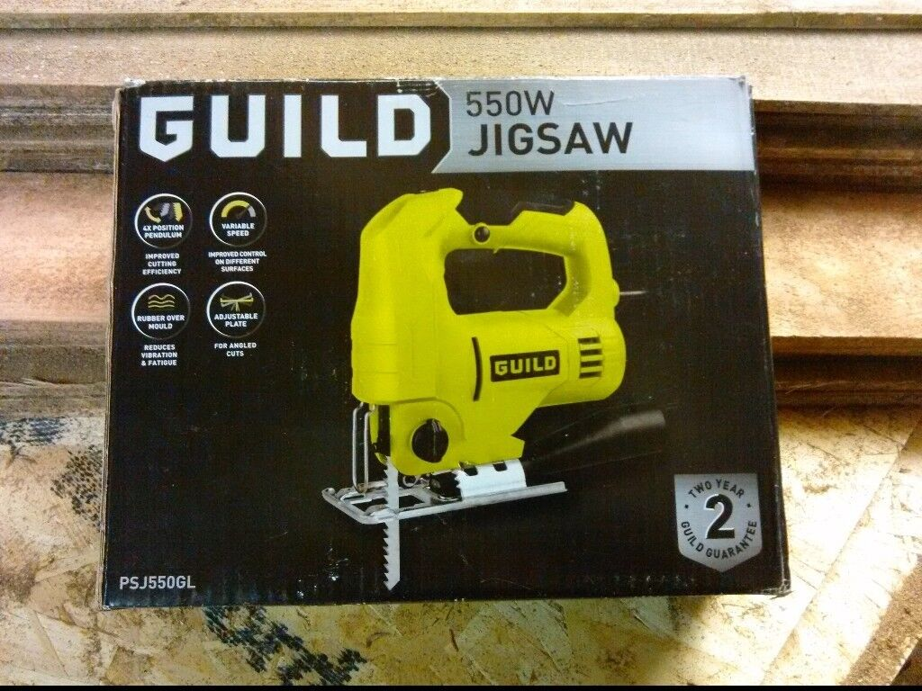 Guild variable speed jigsaw 550w in wombourne west midlands guild variable speed jigsaw 550w greentooth Choice Image
