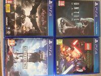 4 Videogames