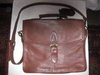 Antler Genuine Leather Briefcase/Laptop Bag –Excellent Condition