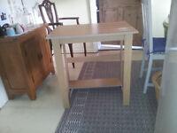 Desk (Small) - Computer/Office- beech effect