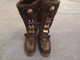 Knee Length New Rock Boots, UK Men's size 10