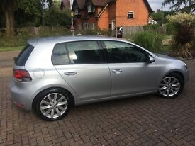 Silver Golf 2.0 GT 2010 excellent condition FSH