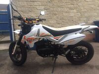 Pulse Adrenaline 125cc Supermoto for sale