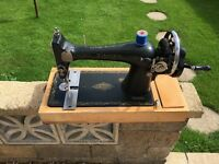 Singer Sewing Machine 1950's Hand Operated