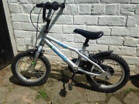 Boys lightweight aluminium 14 inch Dawes Blowfish bike