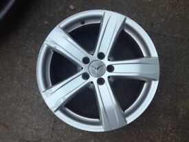 "Mercedes S class 18"" genuine wheel x1"