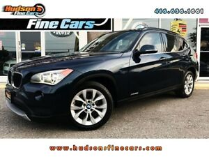 2014 BMW X1 xDrive28i | LEATHER | SUNROOF |NAVI| CERTIFIED