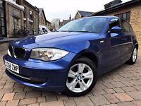 BMW 1 Series 2.0 118d SE 5dr**6 MONTHS WARRANTY** 2009 (58 reg), Hatchback