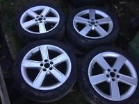 Volkswagen Alloy Wheels 5x100 Golf MK4 BORA LEON Polo Fabia