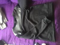 Men's Zara leather patched jumper