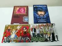 Manga Monster vol 1, Doubt vol 1, Alice in Kingdom of Hearts vol 1 and All You Need is Kill