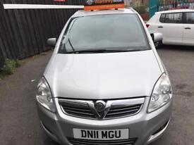 Vauxhall Zafira 1.7 CDTi ecoFLEX 16v Exclusiv 5dr FULL S/H*WARRANTY*12 M MOT*78K