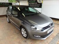 Volkswagen Polo 1.4 ( 85ps ) DSG 2013.5MY Match Edition automatic , WARRANTY + FINANCE + FDSH