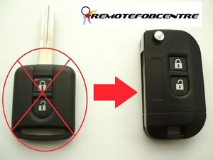 2-BUTTON-FLIP-KEY-CASE-UPGRADE-FOR-NISSAN-MICRA-NOTE-NAVARA-REMOTE-4-5-CM