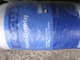 Roll of Polystyrene Underlay for Wooden Floors