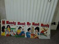 Mandy annuals 6off from 1984-1989 all in good condition these books have been in loft