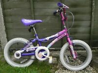 For Sale £40 – Magna 'Glamorous' girls bike