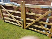 Jackson Fencing Wooden Garden Gates and Posts