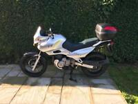 Suzuki xf650 freewind adventure bike