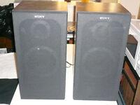 Sony E34 Bass Reflex Speakers