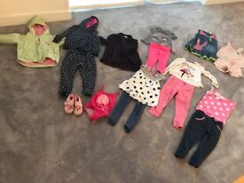 girl clothing bundle age 2-3