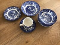 Broadhurst Ironside Willow Pattern China