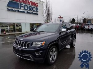 2015 Jeep Grand Cherokee Limited 5 Passenger, 30,388 KM, 3.6L V6