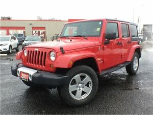 2011 Jeep Wrangler SAHARA**4X4**ALLOY WHEELS**
